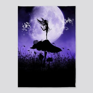 Fairy Silhouette 2 5'x7'Area Rug