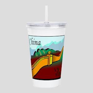 china Acrylic Double-wall Tumbler