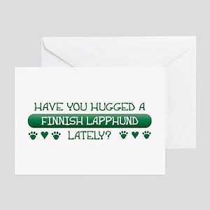 Hugged Lapphund Greeting Cards (Pk of 10)