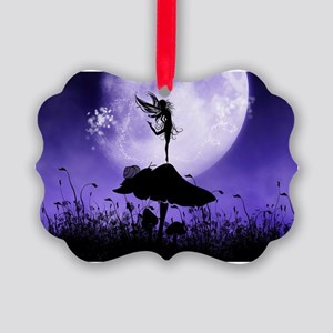 Fairy Silhouette 2 Ornament