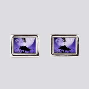Fairy Silhouette 2 Rectangular Cufflinks