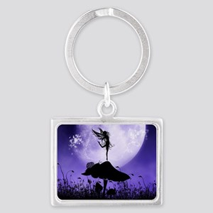 Fairy Silhouette 2 Keychains