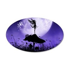 Fairy Silhouette 2 Wall Decal