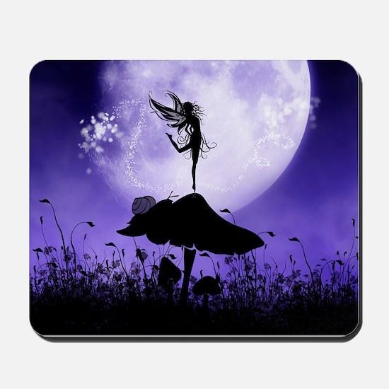 Fairy Silhouette 2 Mousepad