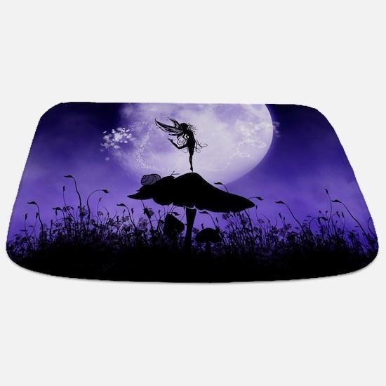 Fairy Silhouette 2 Bathmat