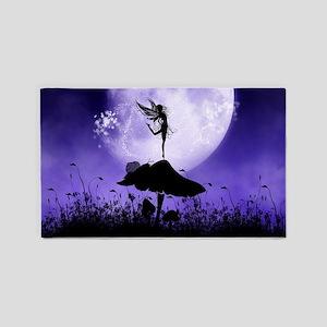 Fairy Silhouette 2 3'x5' Area Rug