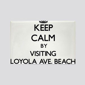Keep calm by visiting Loyola Ave. Beach Illinois M