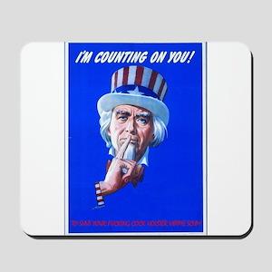 Uncle Sam Mousepad