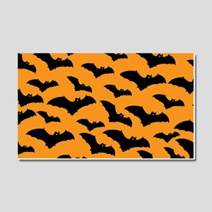 Halloween Bat Pattern Car Magnet 20 x 12