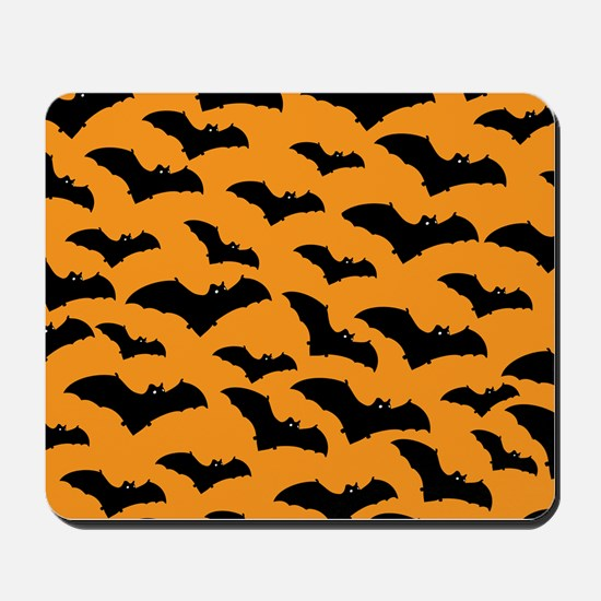 Halloween Bat Pattern Mousepad