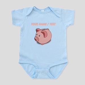 Custom Piggy Bank Body Suit