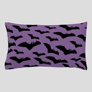 Spooky Halloween Bat Pattern Pillow Case