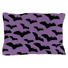 Spooky Halloween Bat Pattern Pillow Case