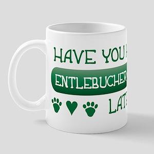 Hugged Entlebucher Mug