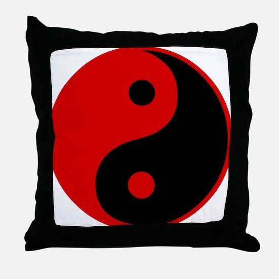 Unique Yang Throw Pillow