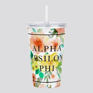 Alpha Epsilon Phi Flor Acrylic Double-wall Tumbler