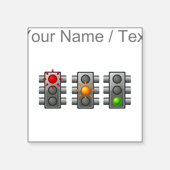 Custom Traffic Lights Sticker