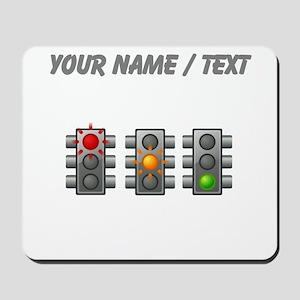 Custom Traffic Lights Mousepad