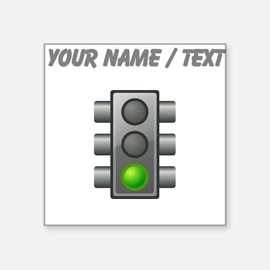 Custom Green Light Sticker