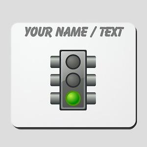 Custom Green Light Mousepad