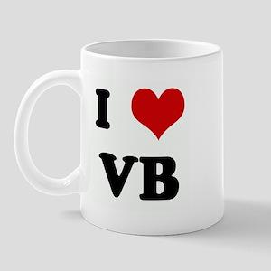 I Love VB Mug
