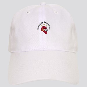 Puck Stops Here Baseball Cap