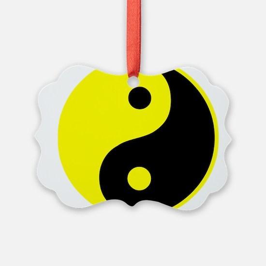 Cute Yin yang Ornament