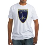 USS BARNSTABLE COUNTY Fitted T-Shirt