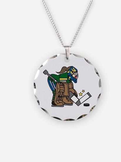 Goalie Girl Necklace