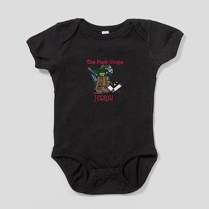 Puck Stops Here Baby Bodysuit