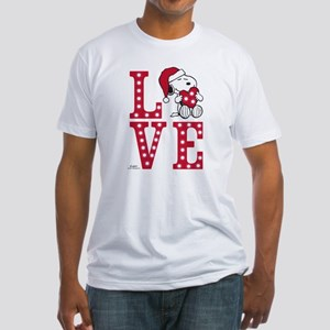 Snoopy Love Fitted T-Shirt