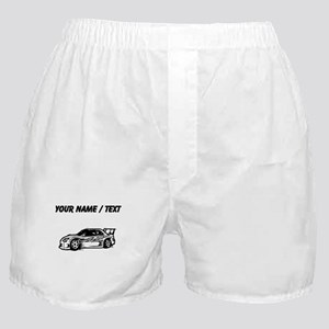 Custom Race Car Boxer Shorts