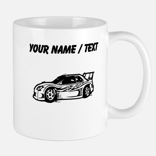Custom Race Car Mugs