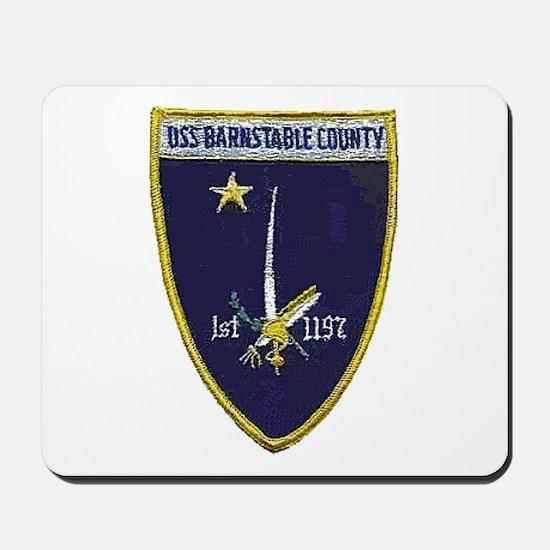 USS BARNSTABLE COUNTY Mousepad