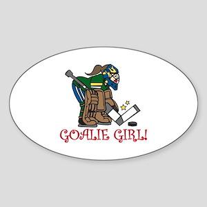 Goalie Girl Sticker