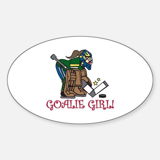 Goalie Girl Decal