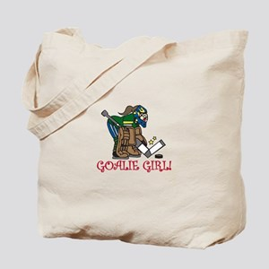 Goalie Girl Tote Bag