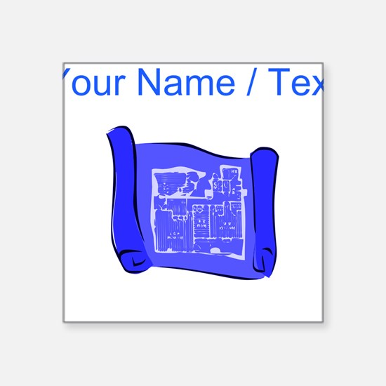Custom Blueprint Sticker