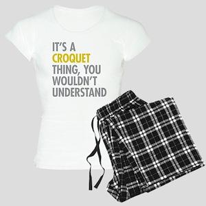 Its A Croquet Thing Women's Light Pajamas