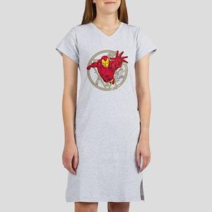 Iron Man Repulsor Women's Nightshirt