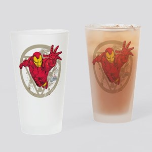 Iron Man Repulsor Drinking Glass