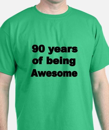 90 Years Of Being Awesome T-Shirt