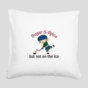 Sugar & Spice Square Canvas Pillow