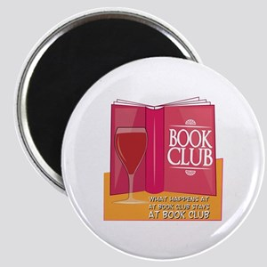 What Happens At Book Club Magnets