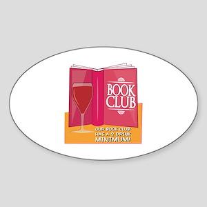 Our Book Club Sticker