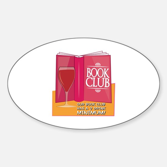 Our Book Club Decal