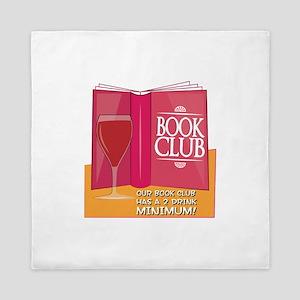 Our Book Club Queen Duvet