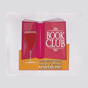 Our Book Club Throw Blanket