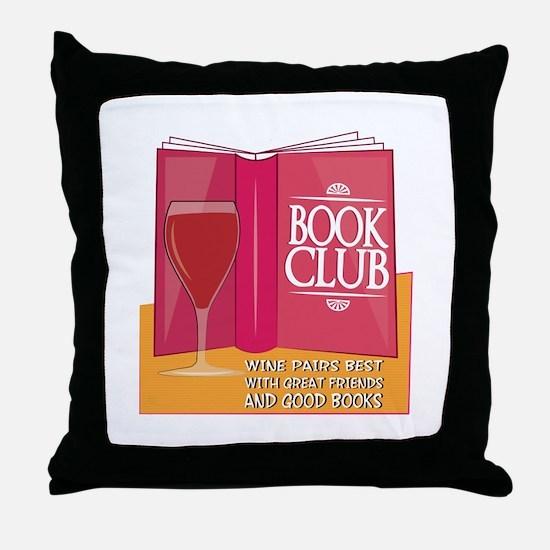 Wine Pairs Best Throw Pillow