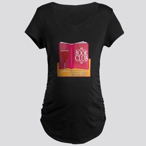 Wine Pairs Best Maternity T-Shirt